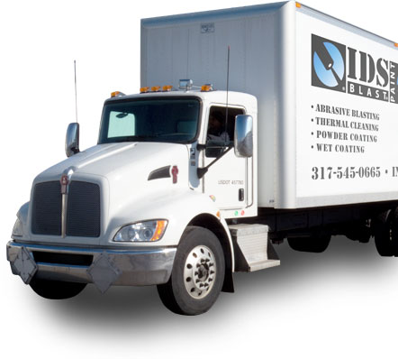 IDS Blast Delivery Truck