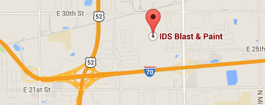 IDS Blast Location Map